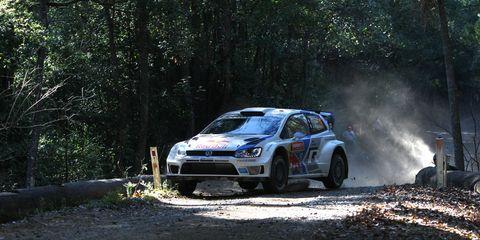 Sebastien Ogier won Rally Australia on Sunday.