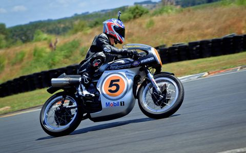 We took the Ken McIntosh-built 1962 Norton Manx replica -- ridden to Isle of Man Classic TT class victory by motorcycle legend Bruce Anstey -- for a spin in New Zealand. This bike is more than just a shockingly capable take on a cherished classic -- it's a true two-wheeled work of art.