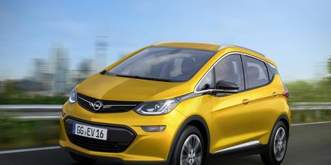 The Opel Ampera-E will differ only slightly from its Bolt twin.