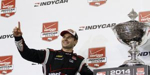 Will Power captured his first Verizon IndyCar Series championship on Saturday at Auto Club Speedway in Fontana, Calif.