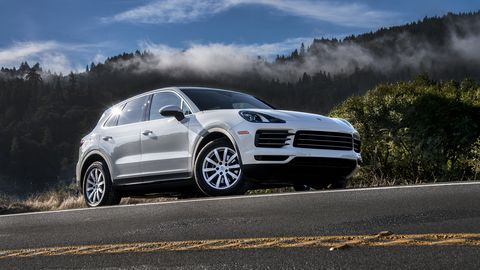The base Cayenne offers plenty of thrills right out of the box, with 335 hp and 332 lb-ft of torque on tap.