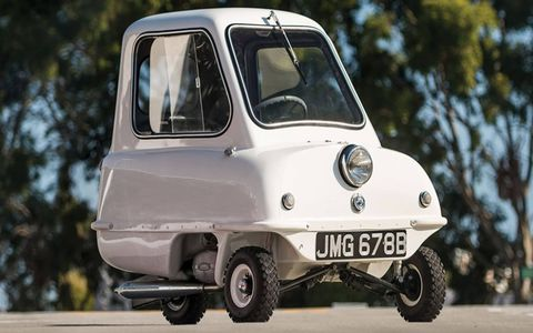 This 1964 Peel P50 is one of just 30 examples believed to be in existence.