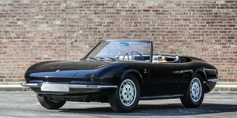 This 911 Spyder was built by Bertone as a potential new model for Porsche.