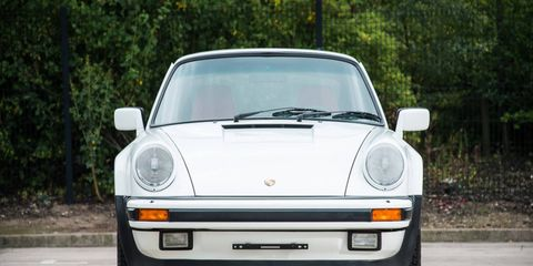 This Porsche 911 Carrera SuperSport shows just 743 kilometers, claimed actual.
