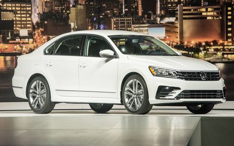 The 2016 Volkswagen Passat made its U.S. debut on Sept. 21, and goes on sale this fall.