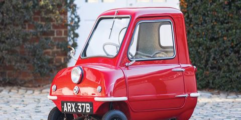 The Peel P50 may be small, but its values are not.