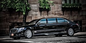 The Pullman will be positioned above the S600 and S65 AMG Maybach.
