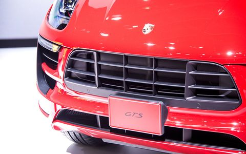 The Porsche Macan GTS made its world debut at the Tokyo Motor Show.