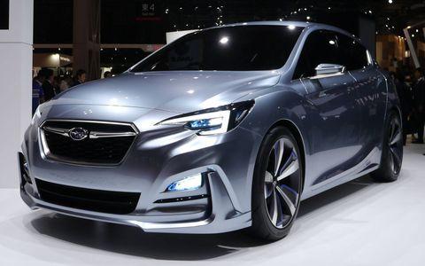Subaru Impreza 5-Door Concept at 2015 Tokyo Motor Show