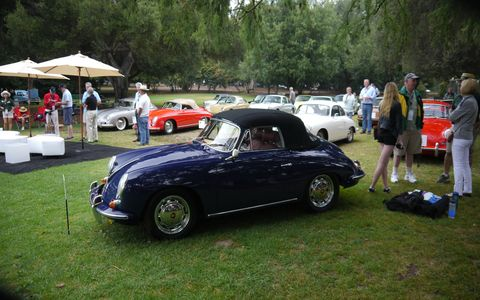 There were two classes for Porsches: 356 and 911 Thru 1973.