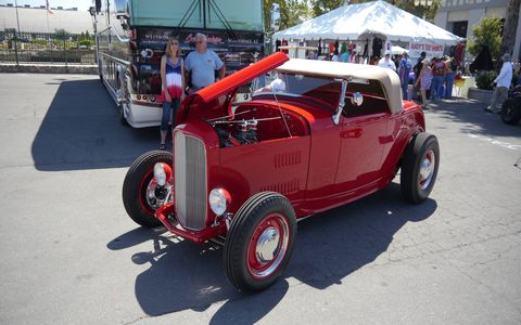 So many great roadsters at the 51st LA Roadsters Show & Swap!