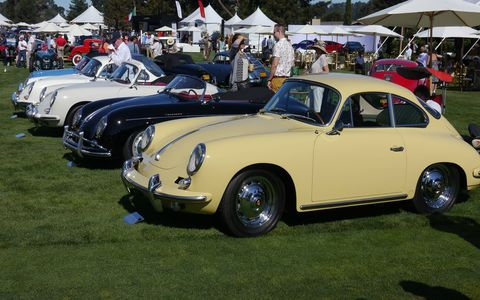There was more room to spread out at this year's Quail, with the same great variety of race cars.
