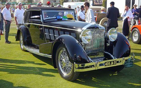 Jim Patterson's 1924 Isotta Fraschini wins Pebble!