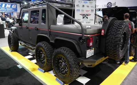 Who knew you could do all this to a Jeep?