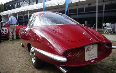 1957 Alfa Romeo Giulietta Sprint Speciale Bertone Prototipo