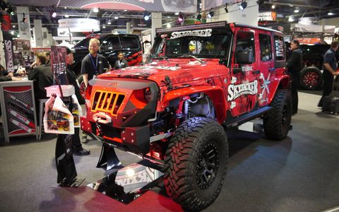 After all the big, jacked-up pickup trucks, Jeeps were by far the largest presence at SEMA. The Jeeps of SEMA sounds like a new reality series, one that we would definitely watch. Here are our favorites.