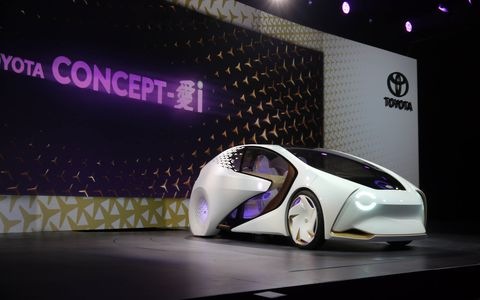 Toyota's Concept-i, which debuted in Las Vegas the day before CES opened,  wants to be your BFF and will use artificial intelligence to do it.