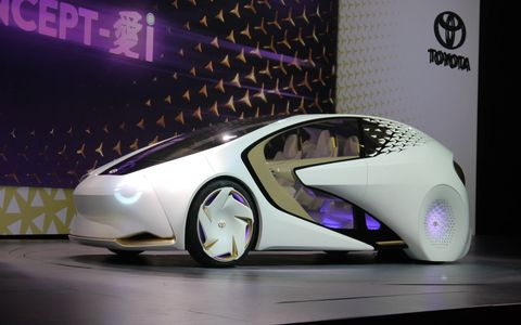 Toyota's Concept-i wants to be your BFF and will use artificial intelligence to do it.