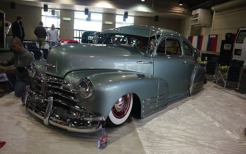 While the AMBR cars get a lot of attention, the Grand National Roadster Show has plenty of cars that aren't roadsters. And here they are, scattered across nine giant halls of the Fairplex in Pomona.