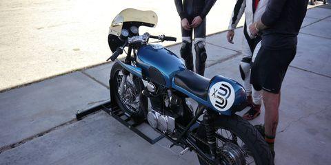 Andy Meadors' 1972 Honda CB 350
