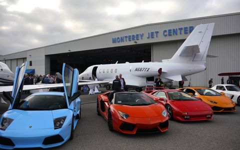 """The Jet Party, as the McCall's Motorworks Revival is more commonly known, is a big mix of jet planes, race cars and raucus revelry with about 2600 of your best friends. This year was the 26th Revival or, as Gordon McCall called it, """"25+1."""""""