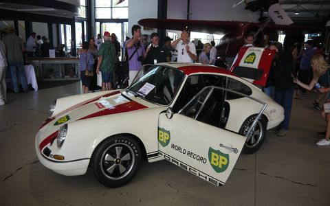 This car raced at Le Mans, we were told.