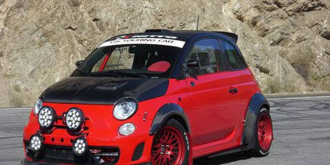 Road Race Motorsports starts with the little Fiat Abarth and tunes it into a real racer, with a claimed 250 hp and grip galore. It's fun, if somewhat claustrophobic.