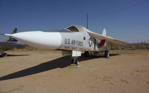 F-111A Aardvark had swing wings