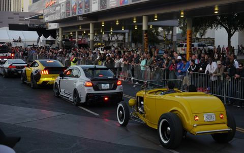 The Cruise featured almost all 1500 cars from the show