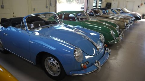 CPR Classic goes to extreme lengths to restore classic Porsches to factory-fresh status.
