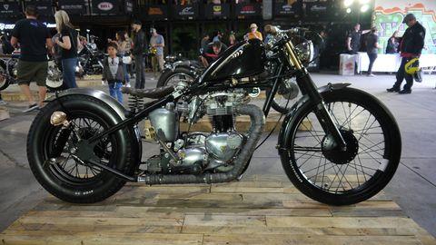 Nice Triumph bobber