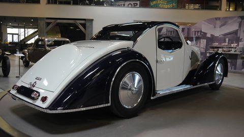 1934 Voisin Type C27 Aérosport Coupe By Gabriel Voisin & André Noël-Noël Telmont. THIS MASTERPIECE was designed by Gabriel Voisin in collaboration with André Noël-Noël Telmont, an architect who met Voisin during their studies.