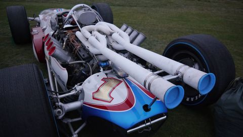 There was a class for Indycars from the  transitional era between front- and rear-mid-engines.