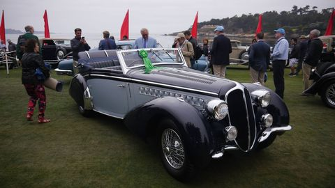 Here are some of the cool cars that parked on the lawn at Pebble Beach this year. See if you can pick out the winner.