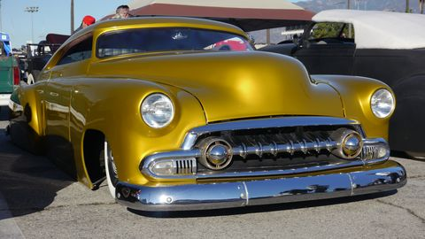 So many cool carz at the annual MoonEyes Car Show & Drag