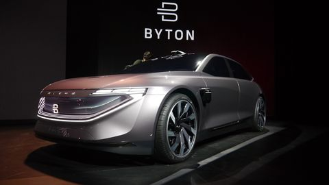 This is the Byton K-Byte, the sedan.