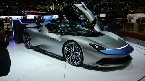 The much-anticipated Pininfarina Battista made its world debut at the Geneva motor show.