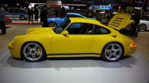 The RUF CTR Anniversary is all RUF, no Porsche parts.