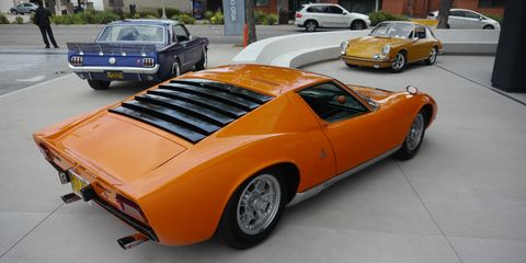 """Since 2017 Auto Conduct has presented """"a curated selection of visionary vehicles"""" at pop-up car shows across Southern California. The shows are curated by founder and Art Center alum 34-year-old Ezekiel Wheeler. For the 14th such show, AC returned to Wheeler's alma mater with a """"kitchen sink"""" of cool cars and a """"Sketch Brawl"""" competition among transportation design students."""