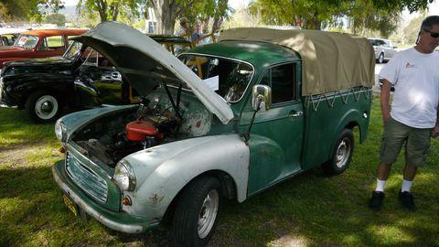 Morris Minor pickup truck
