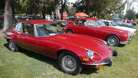 This E-Type 2+2 looked impeccable.