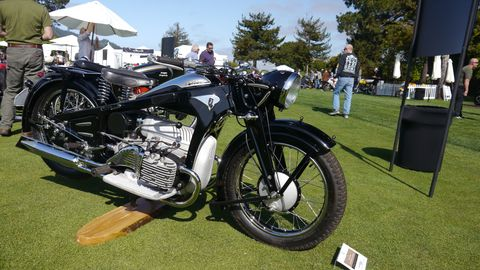 Zundapp has been around since 1917 and making motorcycles since 1921. This 1939 model looks really cool, like a BMW, perhaps.