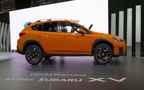 The Crosstrek rides on Subaru's new architecture known as the Subaru Global Platform.
