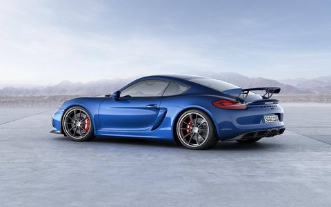 The 2016 Porsche Cayman GT4 arrives this summer with a starting price of $85,595.