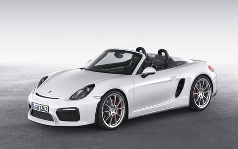 The Spyder will go on sale this summer.