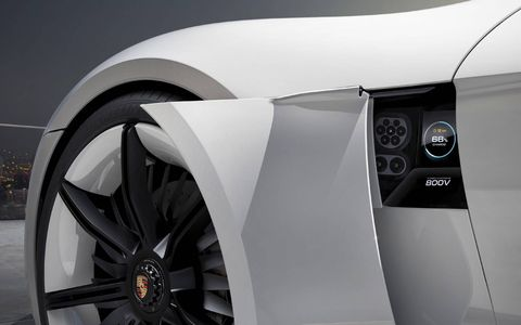 The Mission E has 600 hp, all-wheel drive and a 310-mile all-electric range