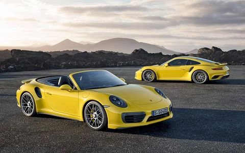 The 2017 Turbo and Turbo S are the stars of the Porsche 911 lineup.