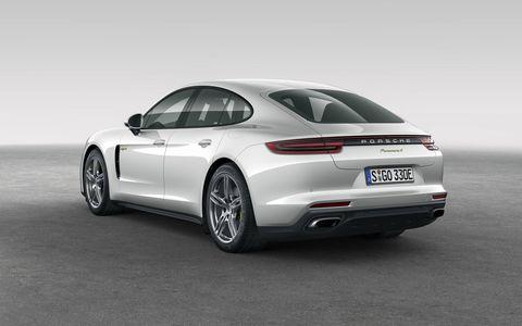 First drive of the 2018 Porsche Panamera E-Hybrid plug-in luxury sedan.