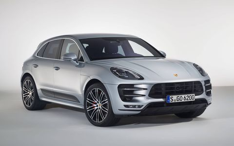 The 2017 Porsche Macan Turbo with Performance Package has a top speed of 169 mph.