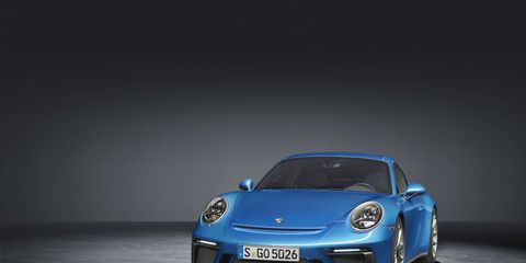 2018 Porsche 911 GT3 with touring package in the studio
